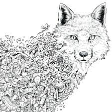 Detailed Animal Coloring Pages Momchilovtsiinfo