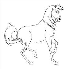 The best free, printable horse coloring pages! 9 Horse Coloring Pages Free Pdf Document Download Free Premium Templates