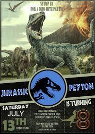 Jurassic Park Invitations Jurassic World Birthday Invitation For Girl Oscarsitosroom