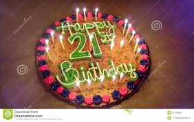 21st Stock Photo Image Of 21st Cake Birthday First 51729390