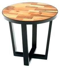reclaimed wood accent table round wood accent table impressive round reclaimed wood end table modern contemporary