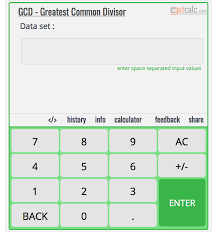Greatest Common Factor Chart Gcf 4 5 And 6 Work With Steps