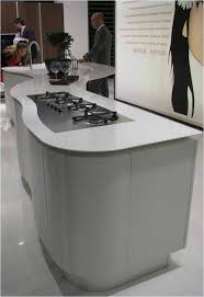 Perfect Modern Curved Kitchen Island White Formica Laminate I On Decorating Ideas