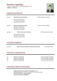 Formato De Resume curriculum basico Cityesporaco 1