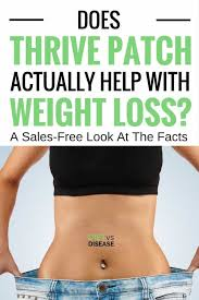 thrive it works does thrive patch help with weight loss a sales free review