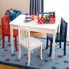 kids table and chair set color