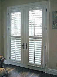 back door window curtain blinds blind curtains for covering ideas french wind