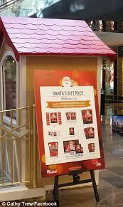 Honey Birdette Releases Ad Showing Model Straddling Santa