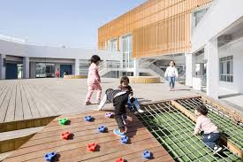 Sanhuan Kindergarten Perform Design Studio Perform Design Studio Sanhuan Kindergarten With Three