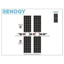 renogy 1000w monocrystalline solar panel cabin kit solar power renogy 1000w monocrystalline solar