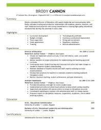 Resume Education Examples Best Director Resume Example Livecareer