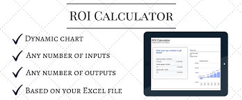 Roi Chart How To Create Your Own Roi Calculator Leaddoubler Com