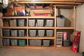 diy wood storage shelves build