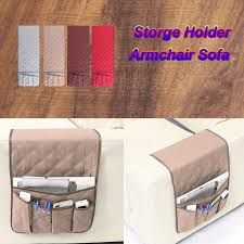 5 pocket armchair sofa book storage candy organizer tv remote control holder new 1 of 11free see more