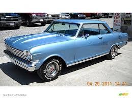 All Chevy chevy 2 : 1963 Aqua Blue Metallic Chevrolet Chevy II Nova 2 Door Hardtop ...