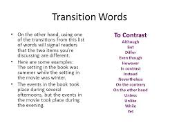 transitions essays good essay transitions graduate level essay