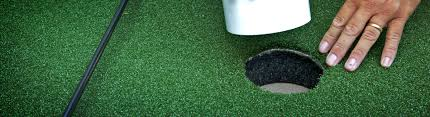 how to build a putting green