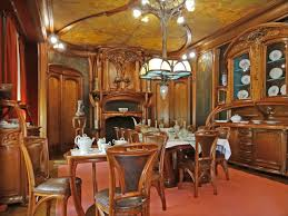 Gorgeous Art Nouveau furniture Walls with Stories
