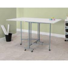 Sewing Craft Cutting Table Quilting Hobby Folding Home Workspace ... & Sewing Craft Cutting Table Quilting Hobby Folding Home Workspace Desk  Jewelry Adamdwight.com