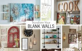 what to do with a blank wall