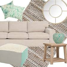 coast furniture and interiors. coastal styling with our ashton sofa in downtown fabric mixed aqua and white wash hues coast furniture interiors t