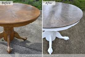 cerused oak dining table table