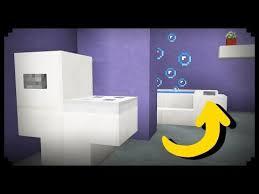 how to make a kitchen in minecraft. Minecraft: How To Make A Working Bathroom - YouTube Kitchen In Minecraft