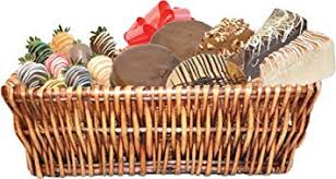 large gift basket with 3 slices of cheescake factory cheesecake 3 mrs fields cookies
