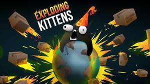 exploding kittens wallpaper. Simple Kittens Exploding Kittens Poster In Kittens Wallpaper O
