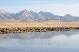 Сон Куль Киргизия Озеро Сон Куль Киргизия