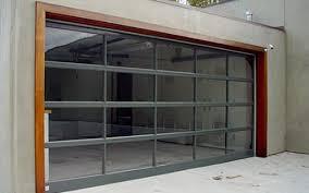 I Custom Modern Glass Garage Doors
