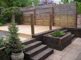 garden design with sleepers. stunning ideas with railway sleepers as garden design