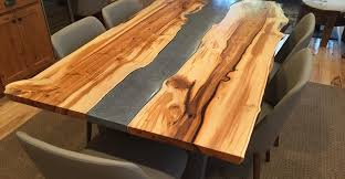 concrete and wood furniture. Yew Table, Concrete Table Site Crafthammer Design Seattle, WA And Wood Furniture O