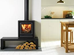 awesome contemporary freestanding fireplaces home design