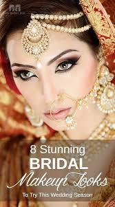 8 stunning bridal makeup looks to try this wedding season