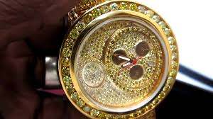 custom made king johnny diamond watch