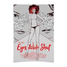 Плакат A3(29.7×42) С широко закрытыми глазами / Eyes Wide ...