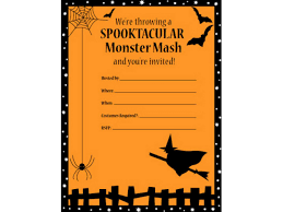 Easy Invitation Templates 012 Free Halloween Invitation Templates For Word Template