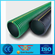 2017 new hot products black corrugated drain pipe 3 pe pipe