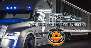 ooida submits ments to oregon dot s autonomous vehicle task force