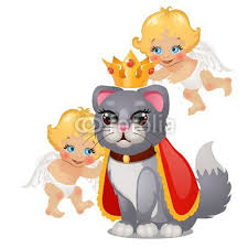 Image result for cats angel funny animated