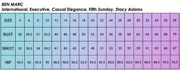 Ben Marc Size Chart Size Charts Www Womensskirtsuits Com