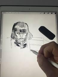 Drawing On Ipad Pro Pj Holden Talks The Newest Tool Of His Trade Apples Ipad