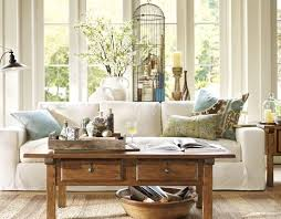 Pottery Barn Living Room Inspiration Pottery Barn Blue Living Rooms