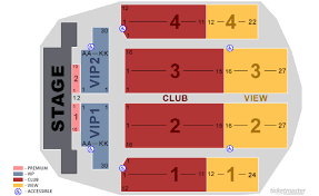 emerald chart emerald queen casino tacoma tickets schedule seating chart
