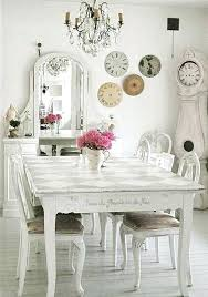 enjoyable inspiration shabby chic dining room table 50 cool and creative rooms old painted chairs give the a clical element design alison