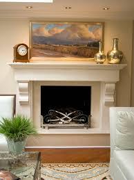 Split Stone Fireplace With TV  Modern  Family Room  Detroit Houzz Fireplace