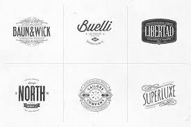 Templates For Logo Retro Logo Templates V 04
