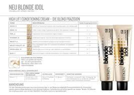 Redken Blonde Idol Hi Lift Cream Haircolor Professional