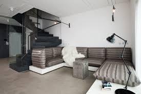 Interior Design Black And White Living Room A Family Home With A Black White Interior Design Milk